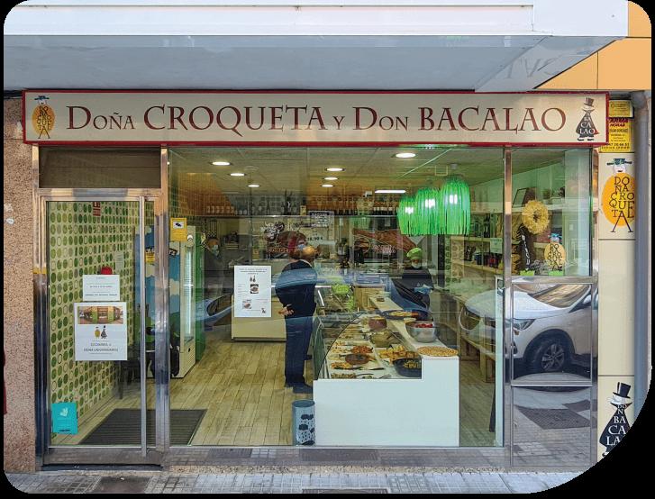 Doña Croqueta Y Don Bacalao Tu Comida Preparada Para Llevar